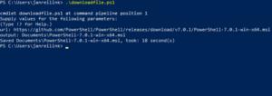 Download bestanden met PowerShell