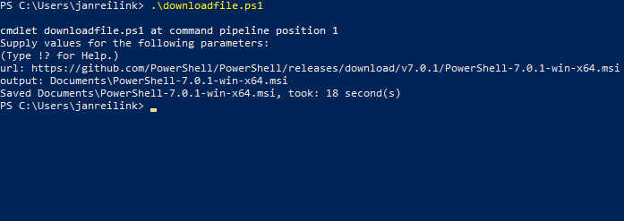 Download bestanden met PowerShell