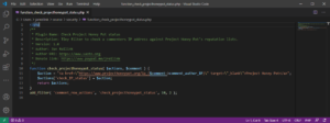 check Project Honey Pot IP status